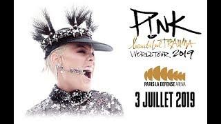 P!NK à Paris La Défense Arena
