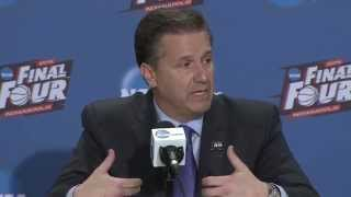 Final Four Postgame News Conference: Kentucky