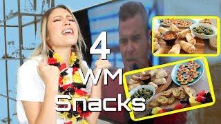 Snacks für die WM Party - vegan Fingerfood zum Spiel/Party/Netflix | #yummypilgrim