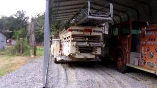 Fire Truck Factory - American Lafrance Bone Yard