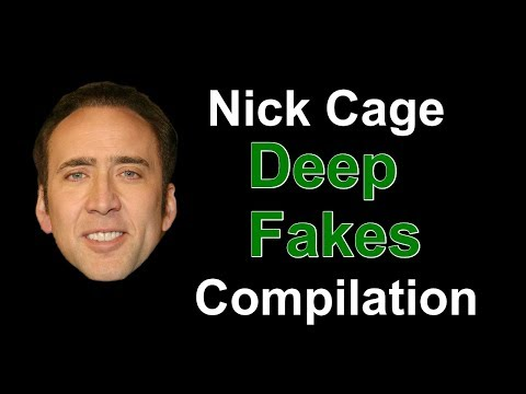 Nick Cage DeepFakes Movie Compilation