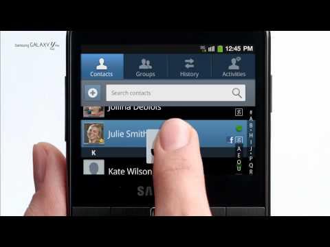 Samsung Galaxy Y Pro - Official Samsung TV Commercial