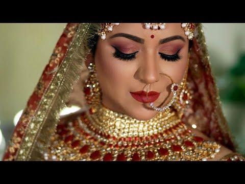 TRADITIONAL ASIAN/INDIAN BRIDAL MAKEUP