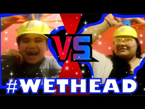 Wet Head Challenge  Son VS Mom!!!