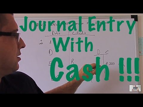 Accounting For Beginners #14 / Journal Entry With Cash / Expense