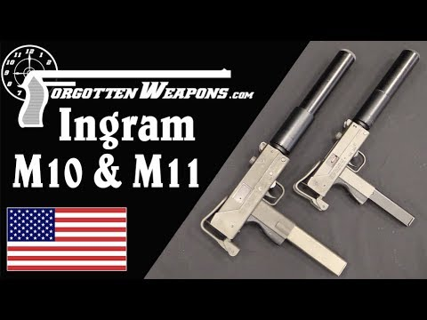 Ingram M10 & M11 SMGs: The Originals from Powder Springs