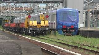 東京メトロ18000系 甲種輸送列車 と EF65 1124 牽引ロンチキ