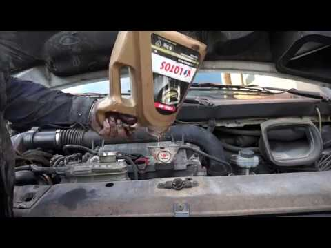 замена масла д.в.с. на Mercedes-Benz Vito 2,2 108CDI OM638