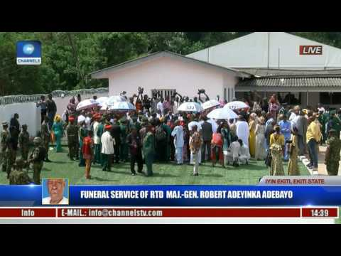 Funeral Service Of Major Gen Robert Adeyinka Adebayo Rtd Pt 20