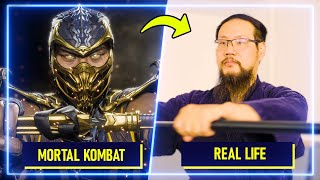 Japanese Sword Experts RECREATE moves from Mortal Kombat 11   Experts Try