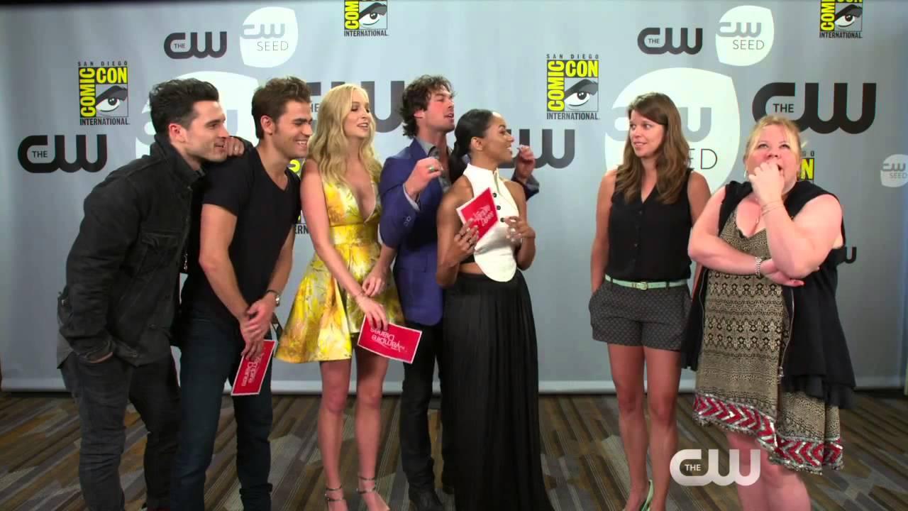 Download (Candice Accola Source) The Vampire Diaries Comic Con 2015 Q&A