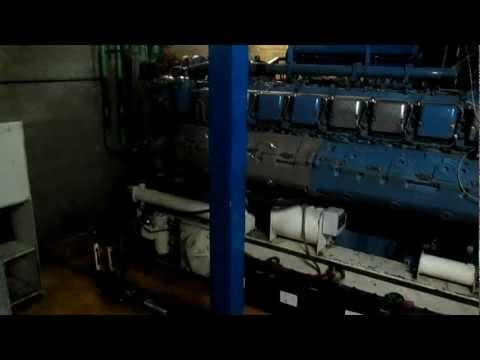 RMH INDUSTRIE TEST GROUPE ELECTROGENE SDMO MTU 2000 KVA DIESEL