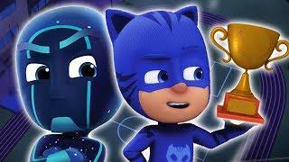 Герои в масках PJ Masks | Супер клипы 9 | 2 часа! | мультики для детей
