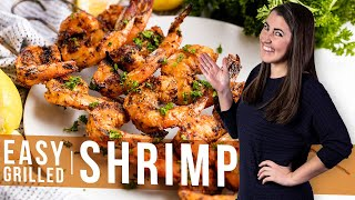 How to Make Easy Grilled Shrimp  The Stay At Home Chef