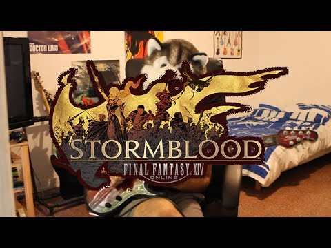 Final Fantasy XIV goes Rock - Stormblood Boss Dungeon Theme