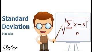 √ Calculating the Standard Deviation - Statistics Distribution | Mathematics