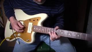 Squier J Mascis Jazzmaster Demo