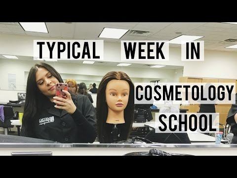 VLOG | Typical Week In Cosmetology School + Trying To Go Blonde Again