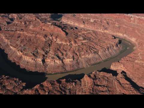 Canyonlands by Air in 4K ~ Moab
