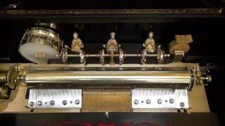La Traviata: full orchestral music box with mandarin automata strikers
