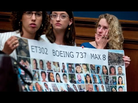Watch Live: Families Of Victims Of Boeing 737 Max Crashes Testify Before House Panel