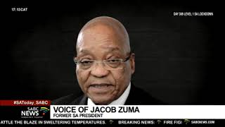 Former President Zuma has accused some officials in the ANC Top Six of a plot against him