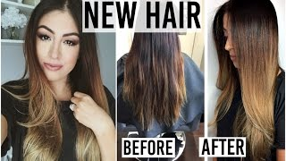 New Balayage Ombre Hair! Hair Care Routine, What I asked Stylist