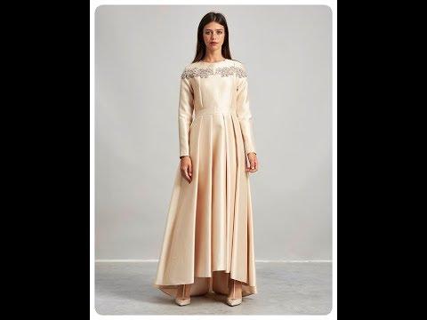 Kayra 2018 Yeni Sezon Tesettür Elbise Modelleri