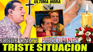 🔴 ULTIMA HORA HACE UNAS HORAS COLOMBIA Y COMUNICADO OFICIAL jorge oñate PIDE ORACIONES GRAVE ESTADO