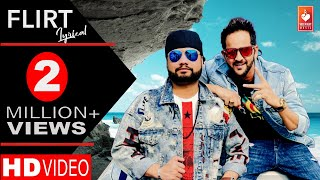 Flirt (Lyrical Video) -MD KD | New Haryanvi Songs Haryanavi 2019 | Sam Vee , Sanya