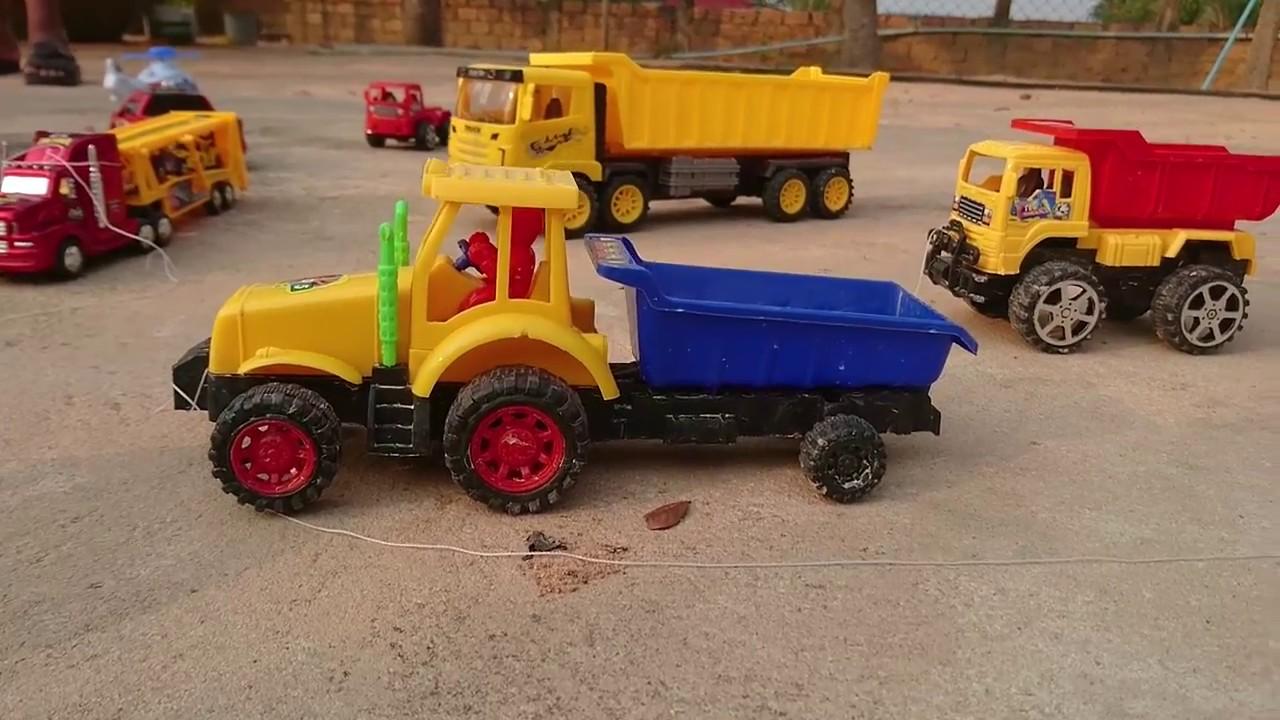 Water trucks, fire trucks, airplanes, concrete mixers - children\'s ...
