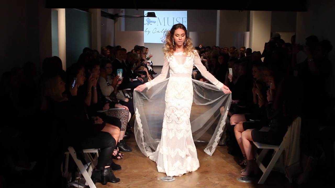 fed5379a05ea MUSE Runway Fall 2017. Modern Trousseau