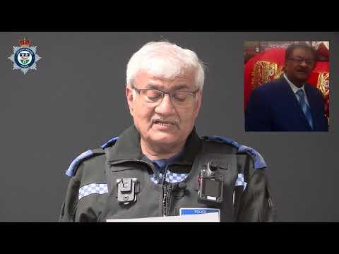 Leicester murder: Video appeal in Gujarati