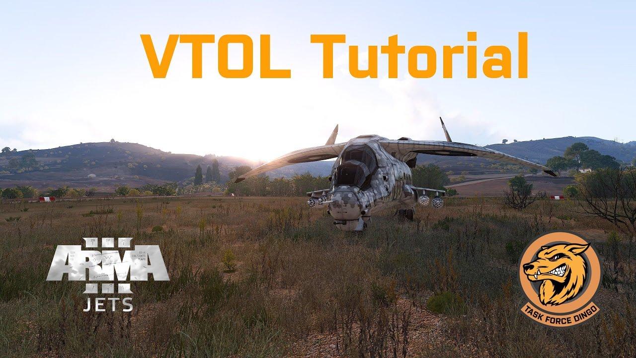 Arma 3 Jets DLC | VTOL Tutorial (bonus mission included) by Imperator TFD