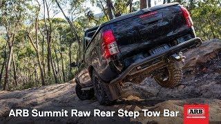 ARB Summit Raw Rear Step Tow Bar | ARB 4x4 Accessories