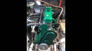 Démarrage du moteur de 4cv 1063
