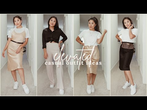 Elevated casual outfit ideas with silk thumbnail