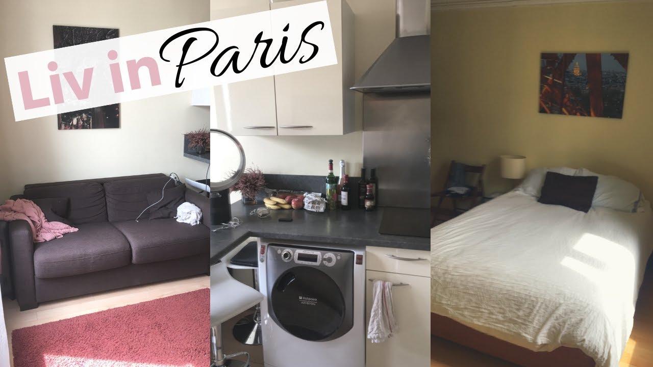 Liv in Paris 20: Paris Apartment Tour! (Montmartre)