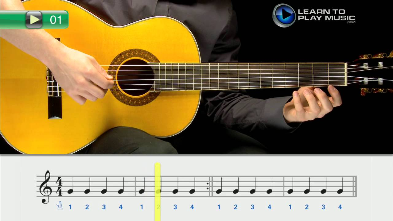 ex001 how to play guitar for kids guitar lessons for kids book 1 youtube. Black Bedroom Furniture Sets. Home Design Ideas