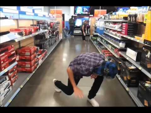 Melbourne shuffling in Wal Mart