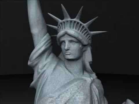 3d model statue of liberty review youtube