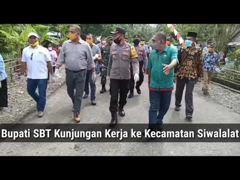 Kunjungan Kerja Bupati SBT Ke Kecamatan Siwalalat