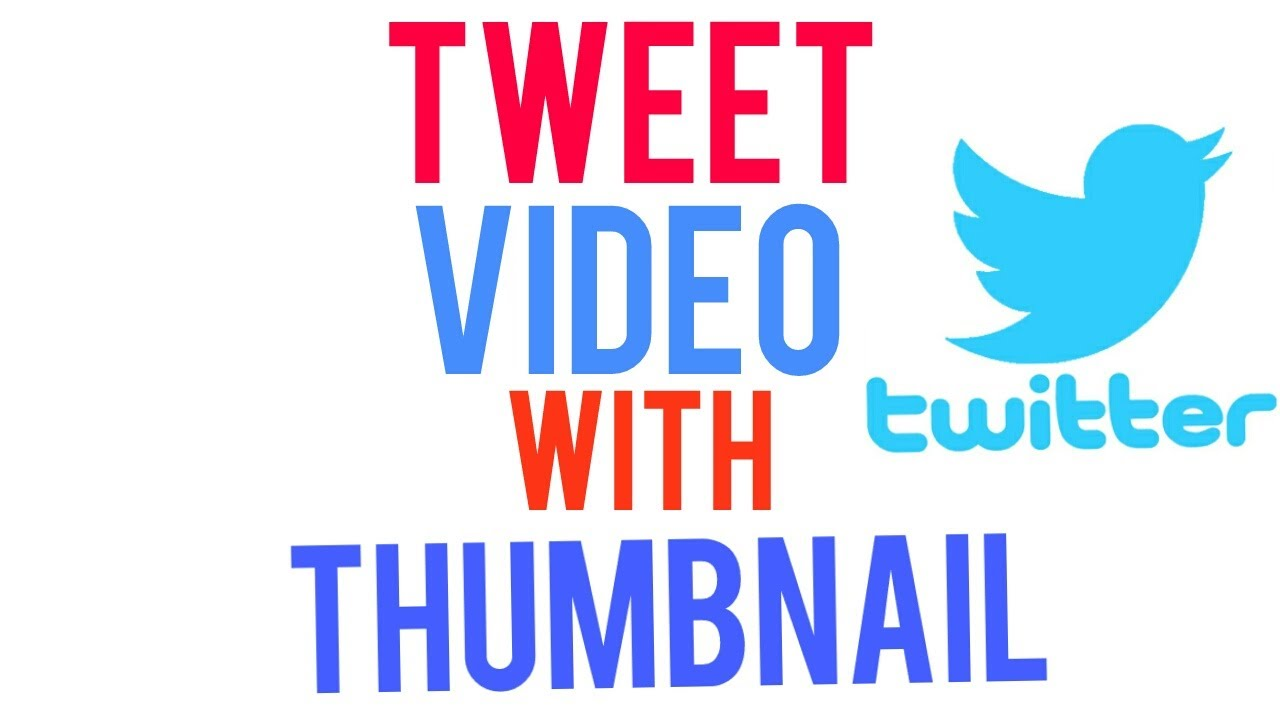 How to tweet video link with thumbnail   twitter hacks techno hacks   TRENDING 1