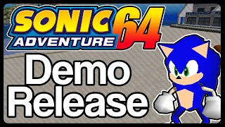 Sonic Adventure 64 Demo - [Official Trailer]