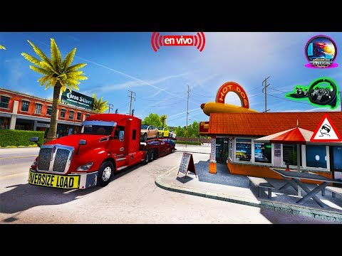 American Truck Simulator Multiplayer Convoy Camion T680 - Kenworth Trucks [1.6] HD