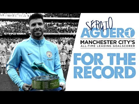 WAITING FOR THE RECORD | Sergio Aguero's Road to #178