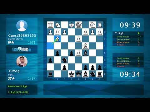 Chess Game Analysis: Chanakya24 - Guest34936130 : 1-0 (By ChessFriends.com)Kaynak: YouTube · Süre: 3 dakika22 saniye