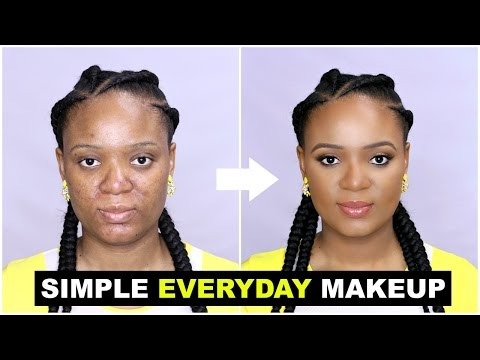 SIMPLE EVERYDAY MAKEUP TUTORIAL FOR BEGINNERS
