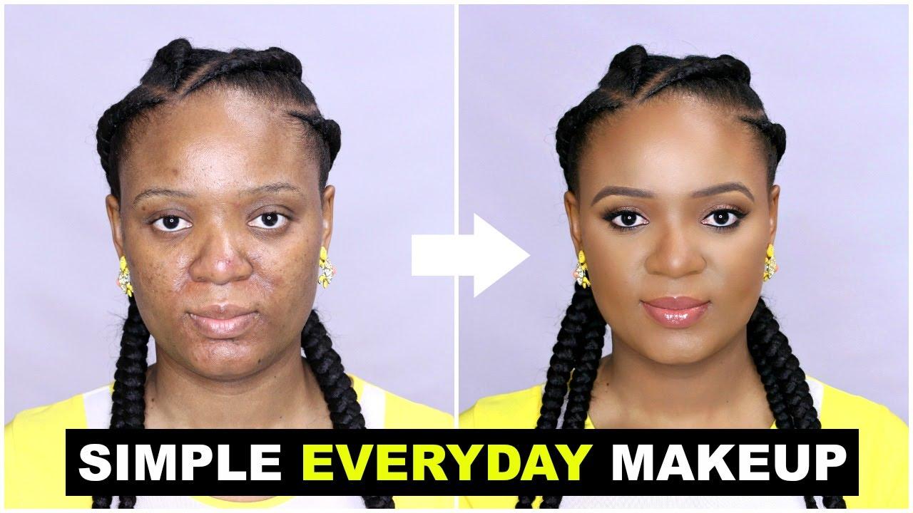 Simple Everyday Makeup Tutorial For Beginners Omabelletv Youtube