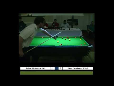 UPC Men's Student International Masters 2017 -  Adam McMackin (NIR) vs Sam Parkinson (Eng)